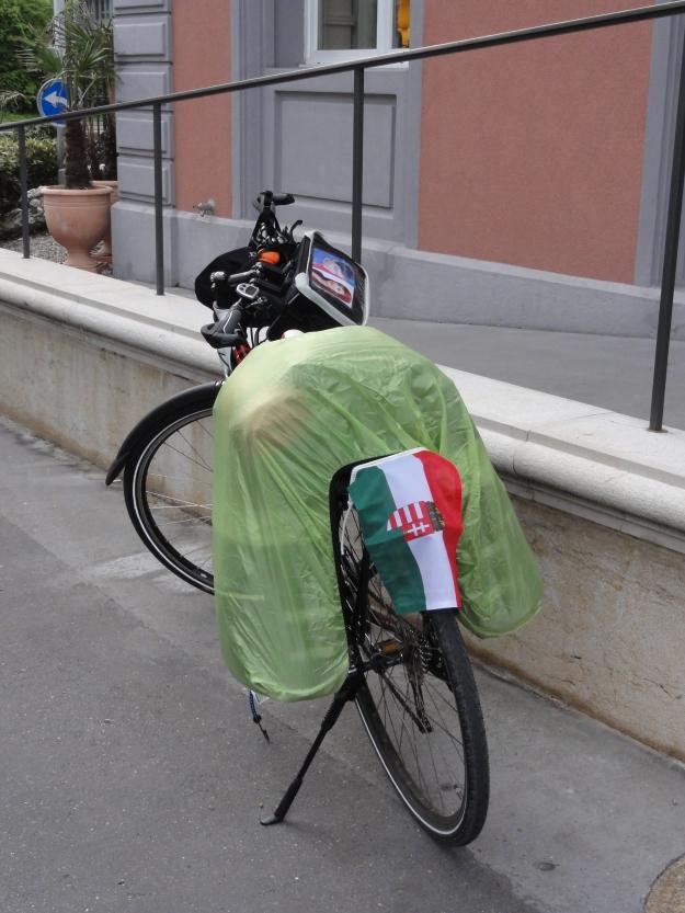 Räder sind gepackt