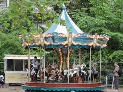 Karusell im Park