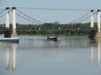 Die Loire kommt ohne Frachtschiffe aus
